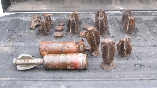 UXO News Wire Service (UXO Blog): Mortar Rounds Found In