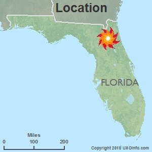 Camp Blanding Florida Map.Uxo Site Specific Data