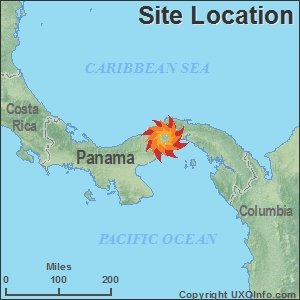 UXO SiteSpecific Data - Where is panama